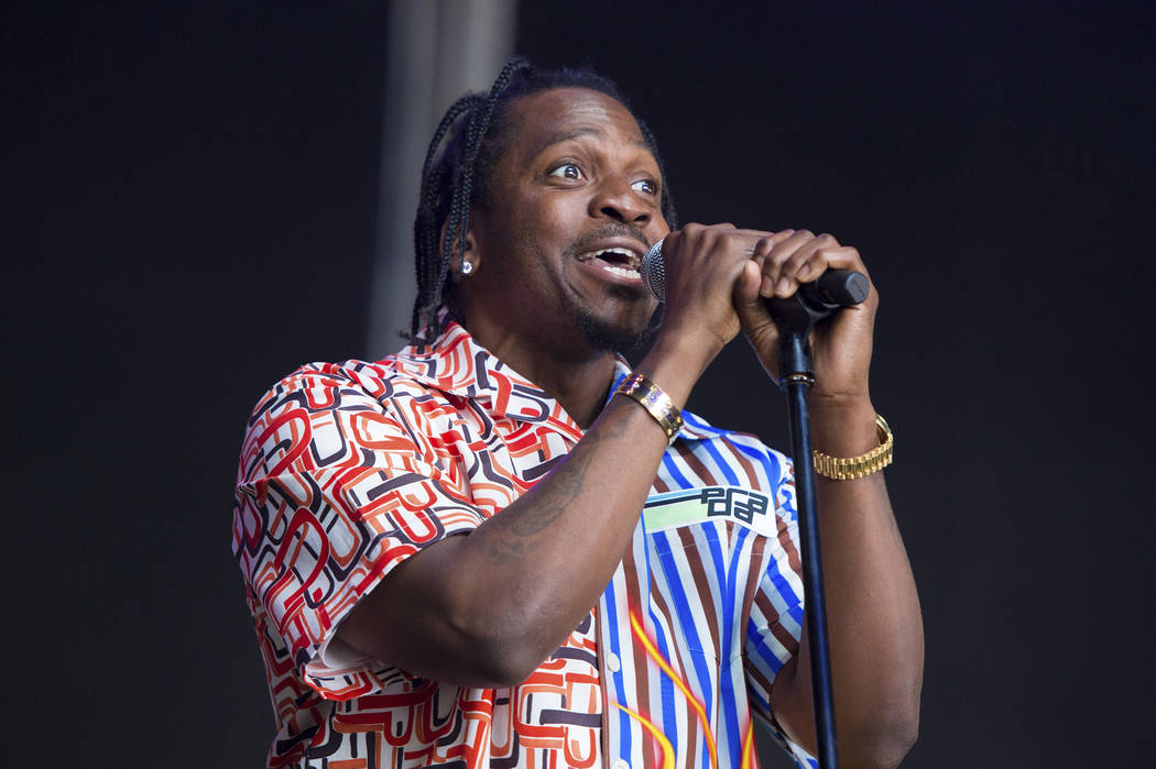 Rapper Pusha T performs at The Governors Ball Music Festival at Randall's Island Park on Saturday, June 2, 2018 in New York. (Photo by Scott Roth/Invision/AP)