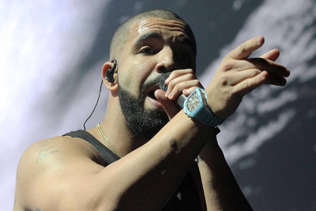 Drake performs at Philips Arena on Thursday, August 25, 2016, in Atlanta. (Photo by Robb Cohen/Invision/AP)