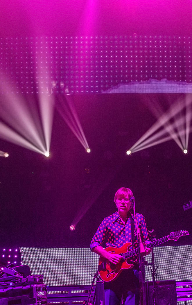 Phish lead singer Trey Anastasio performs during their Halloween show at the MGM Grand Garden Arena on Monday, Oct. 31, 2016, in Las Vegas. Benjamin Hager/Las Vegas Review-Journal