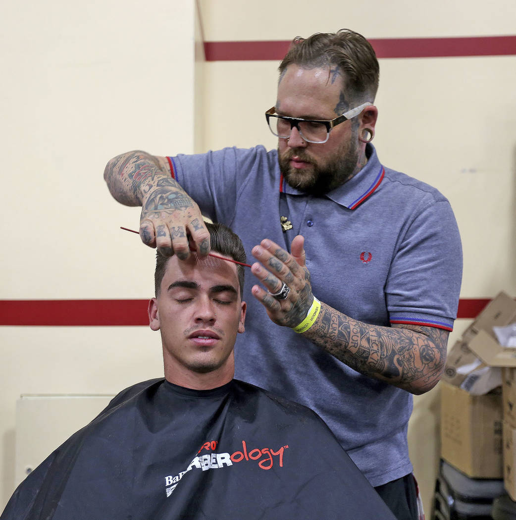 Barbershop industry growing quickly in Nevada, US | Las
