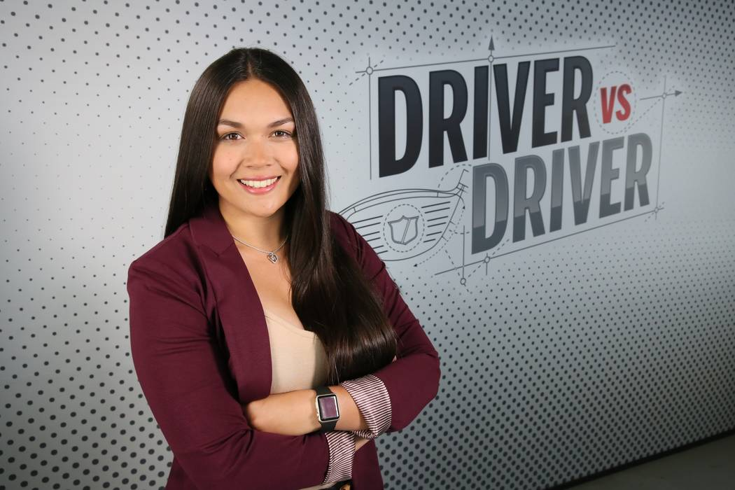 Samantha Smith, a pre-med student at Touro University with plans to attend the UNLV School of Medicine, is one of 14 finalists on Golf Channel's Driver vs. Driver series and created the Supernova ...