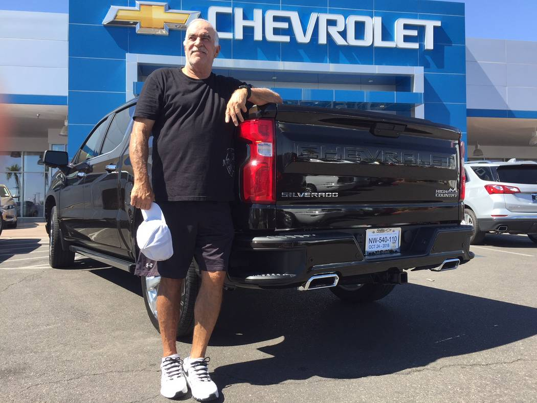 Findlay Longtime Las Vegan Rob Martinez, who has purchased several Chevrolets over the years from Findlay Chevrolet, recently bought a 2019 Silverado High Country from the dealership situated at 6 ...