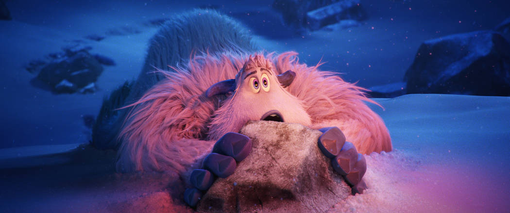 """Migo (voiced by Channing Tatum) in the new animated adventure """"Smallfoot."""""""
