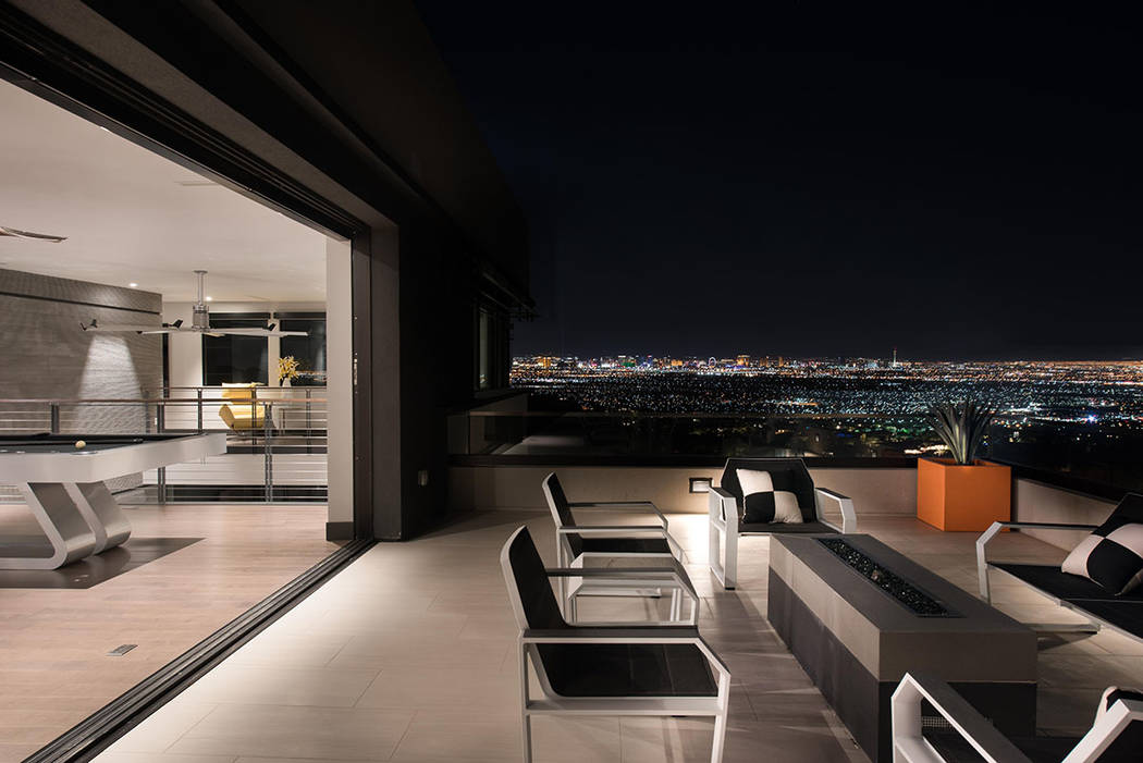 This MacDonald Highlands home is listed for nearly $15M. (Simply Vegas)