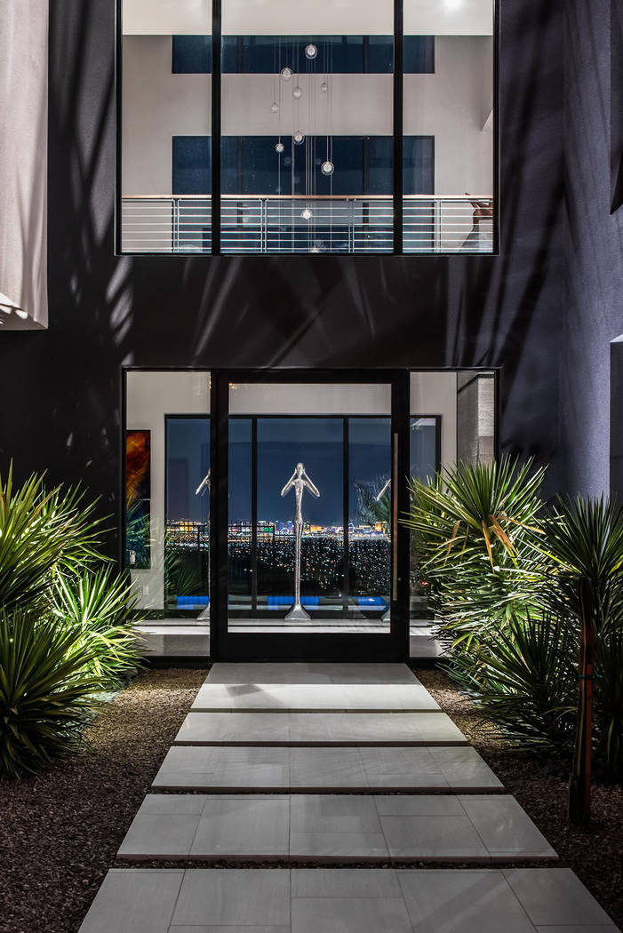 The home was built by Blue Heron. (Simply Vegas)