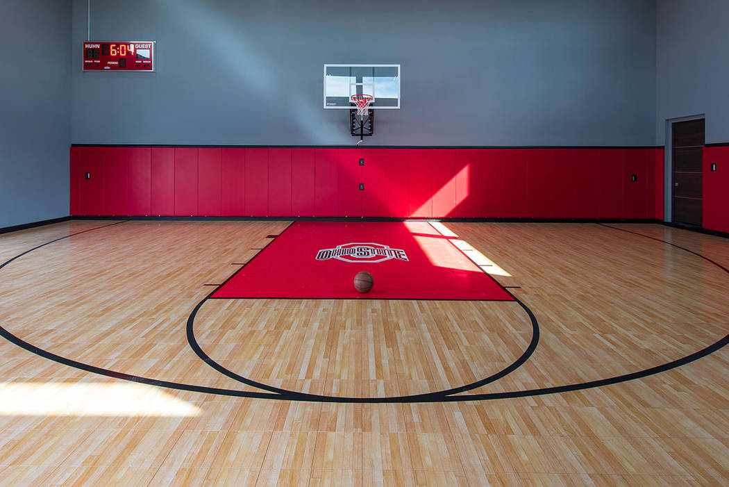 The Indoor Basketball Court Simply Vegas Las Vegas Review Journal