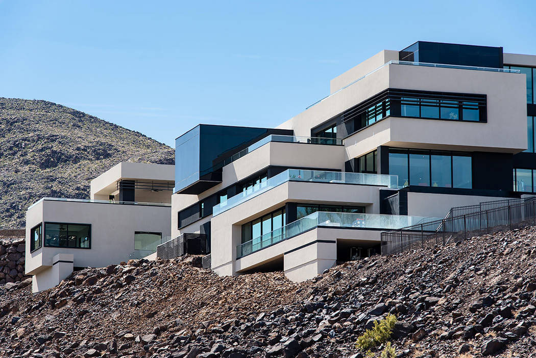 It took nearly two years to build this 16,000-square foot home in MacDonald Highlands. (Simply Vegas)