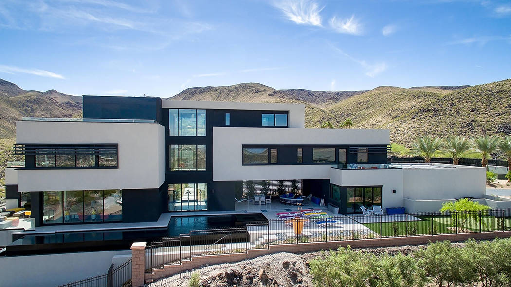The home was constructed by Las Vegas-based Blue Heron. (Simply Vegas)
