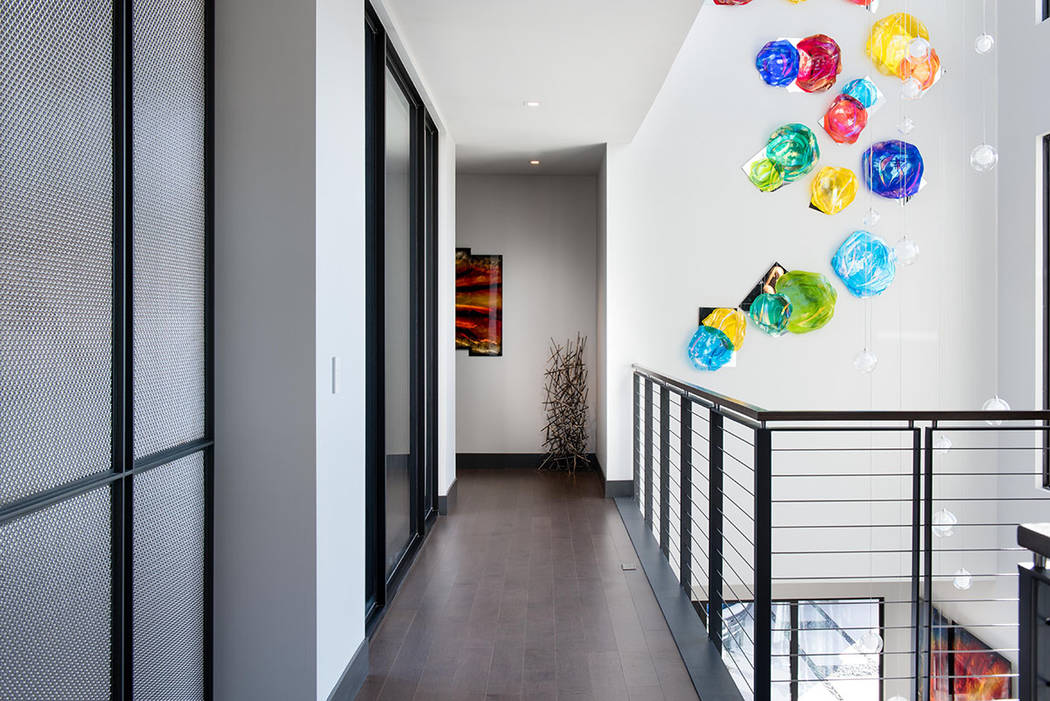 The home is filled with lots of fun and color. (Simply Vegas)