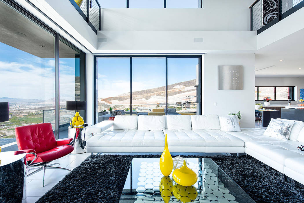 The Living room. (Simply Vegas)