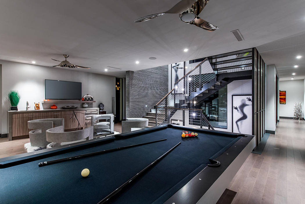 The game room. (Simply Vegas)