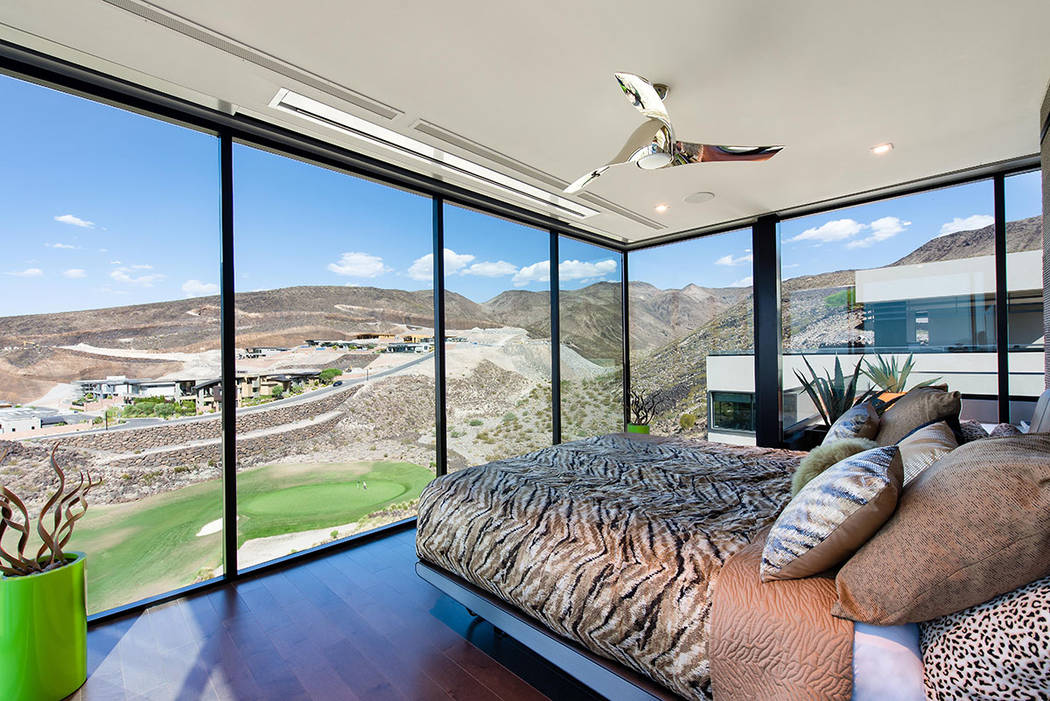 The master bedroom. (Simply Vegas)