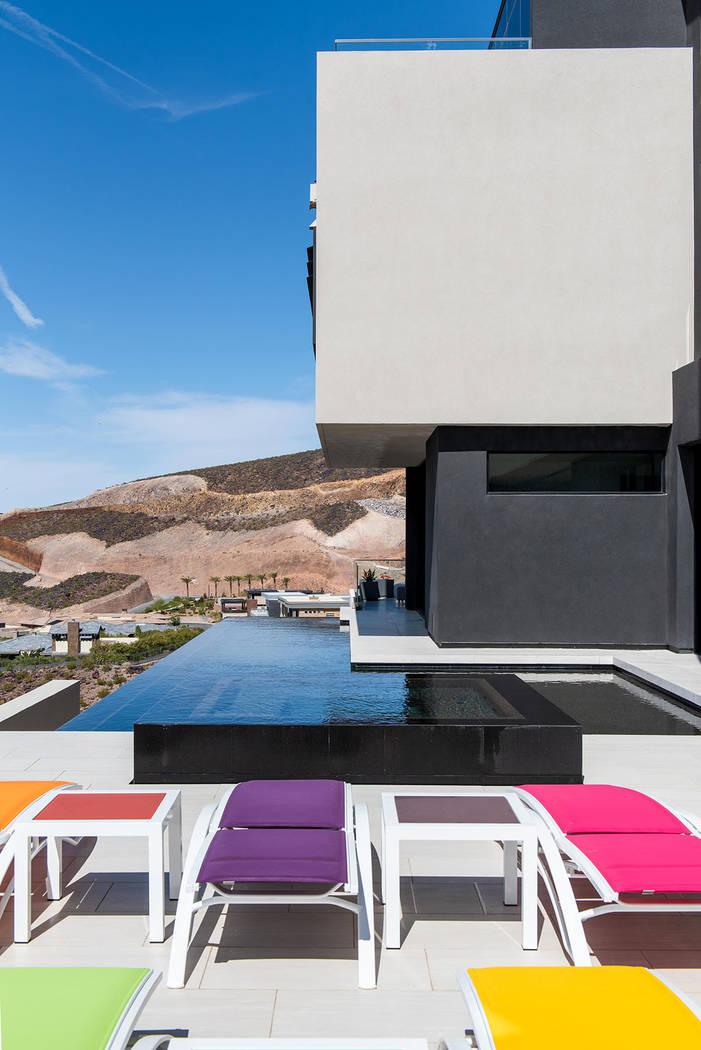 The pool area. (Simply Vegas)