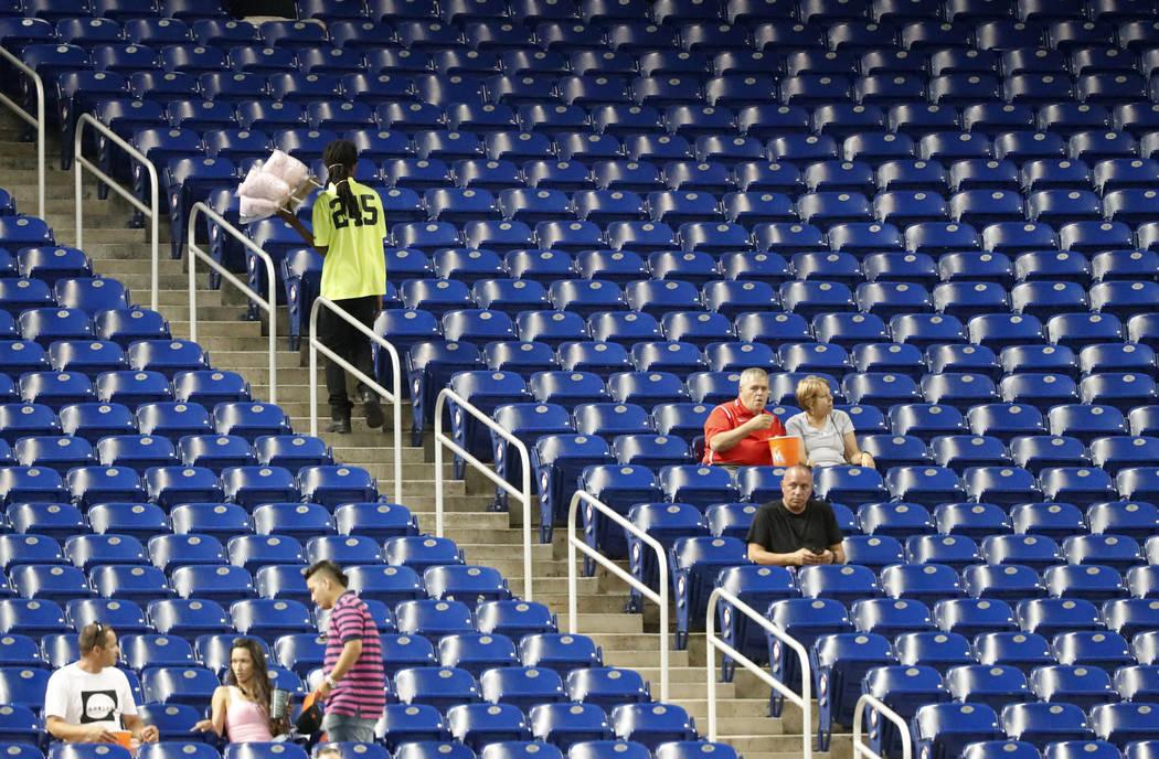 6 mlb ballparks set record lows for attendance this season las