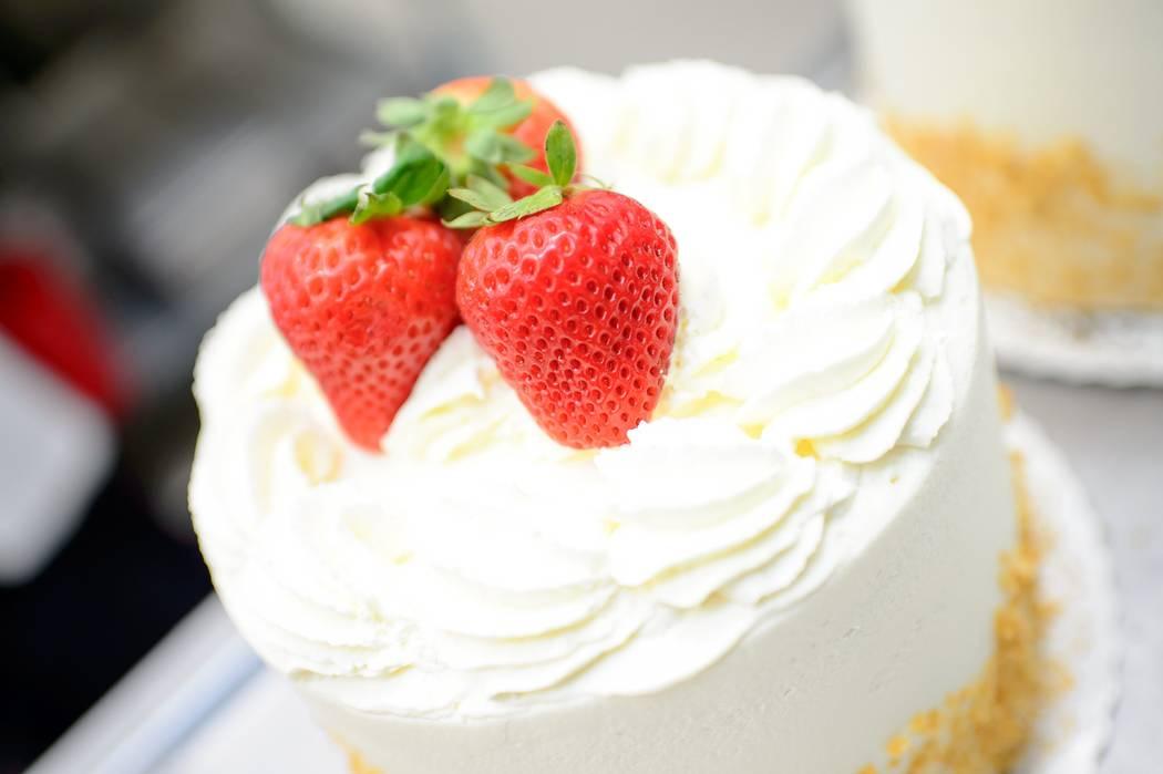 Freed's strawberry shortcake.