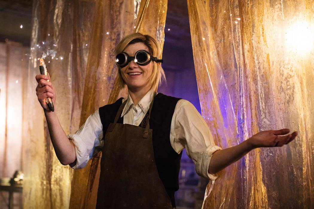 DOCTOR WHO Season: 11 Picture shows: The Doctor (JODIE WHITTAKER) Photo Credit: Sophie Mutevelian