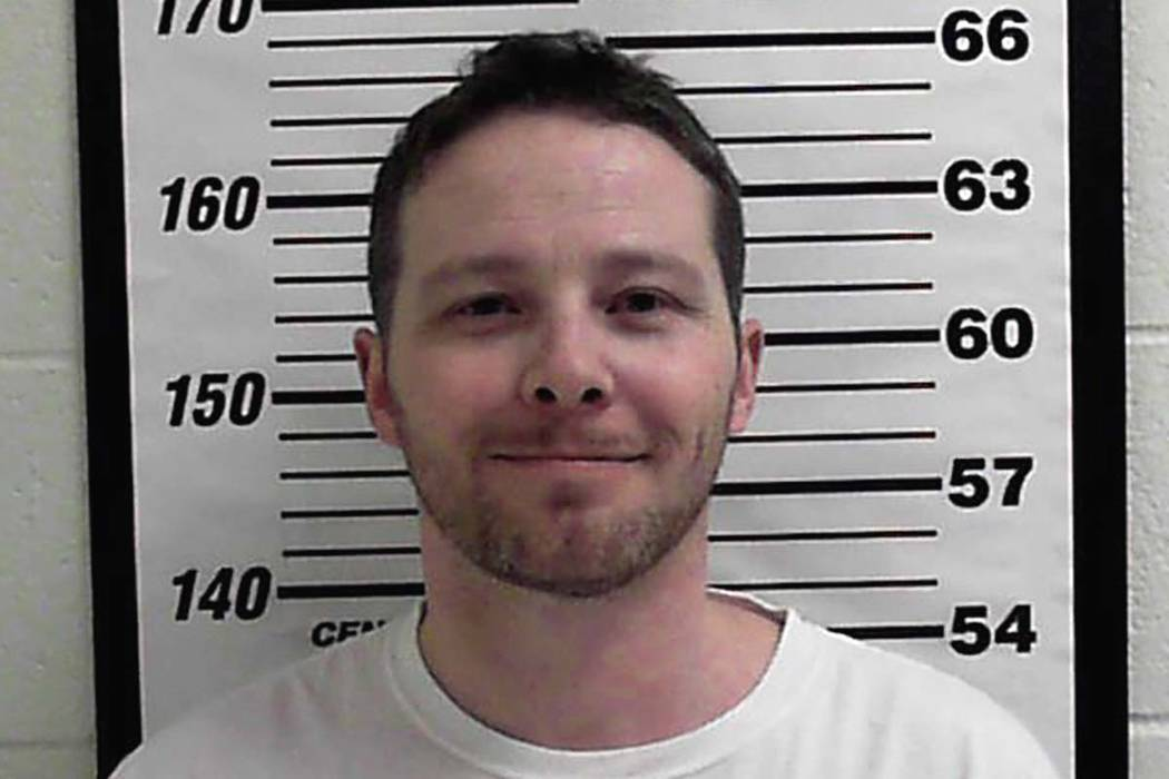 This undated photo released by Davis County Sheriff's Office shows William Clyde Allen III. Allen, 39, a U.S. Navy veteran in Utah was arrested Wednesday, Oct. 3, 2018, in connection with suspicio ...