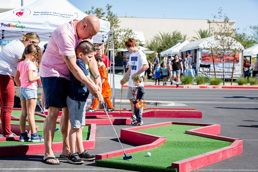 Summerlin Festival of the Arts features lots of children's activities. (Summerlin)