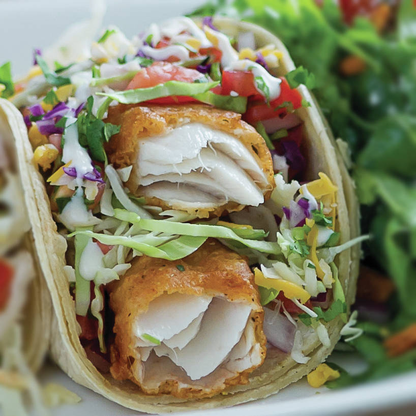 Sharky's Modern Mexican Kitchen: Get a free Baja-style wild Alaskan pollock taco with any purchase.
