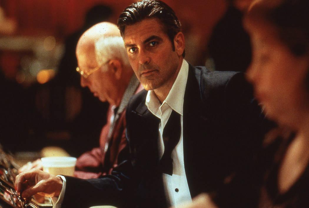 George Clooney stars in Ocean's 11. 2001 Warner Bros.