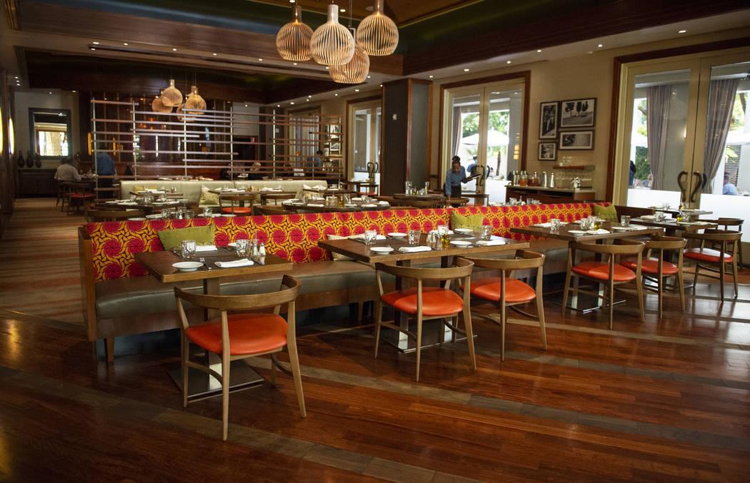 Veranda restaurant at the Four Seasons Hotel Las Vegas, Thursday, Oct. 4, 2018. Caroline Brehman/Las Vegas Review-Journal