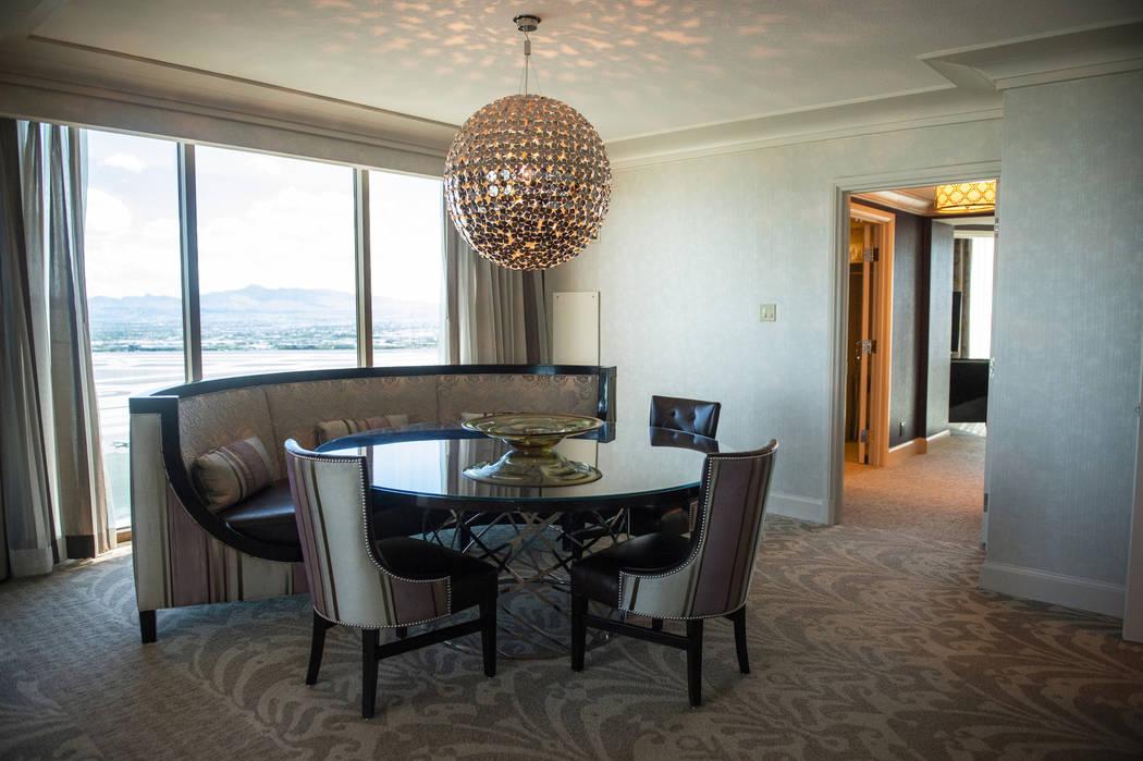 The Sunrise and Sunset Suite at the Four Seasons Hotel Las Vegas, Thursday, Oct. 4, 2018. Caroline Brehman/Las Vegas Review-Journal