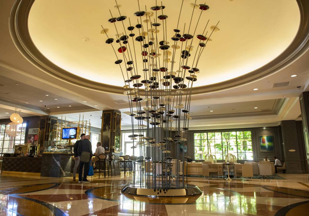 Lobby at the Four Seasons Hotel Las Vegas, Thursday, Oct. 4, 2018. Caroline Brehman/Las Vegas Review-Journal