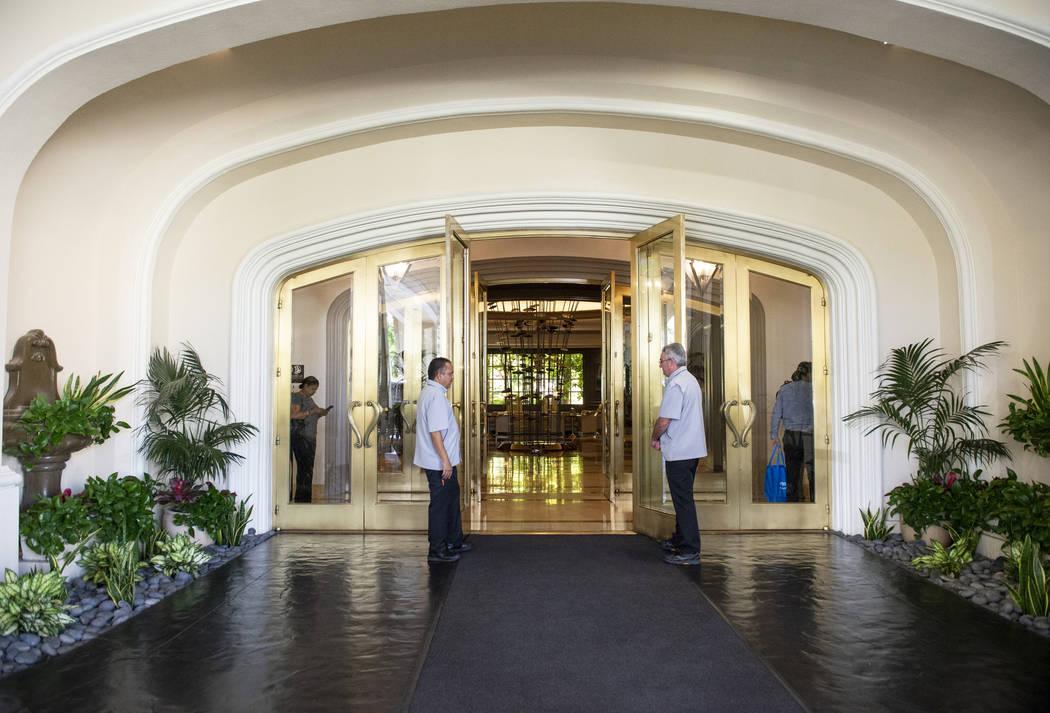 Entrance to the Four Seasons Hotel Las Vegas, Thursday, Oct. 4, 2018. Caroline Brehman/Las Vegas Review-Journal