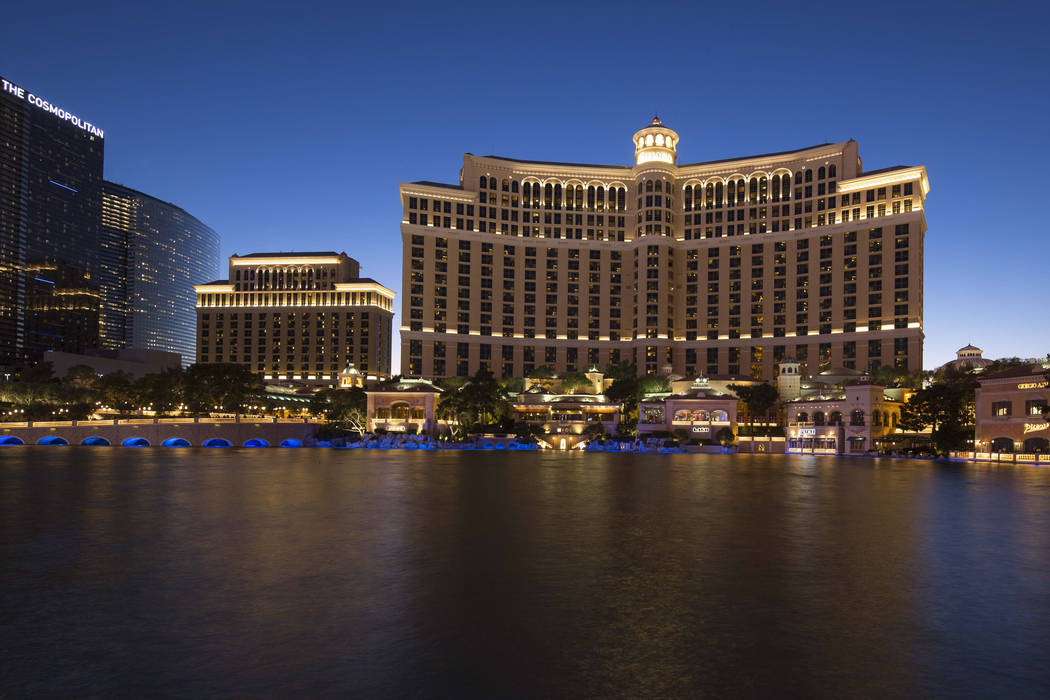 The Bellagio in Las Vegas on Saturday, Oct. 13, 2018. Richard Brian Las Vegas Review-Journal @vegasphotograph