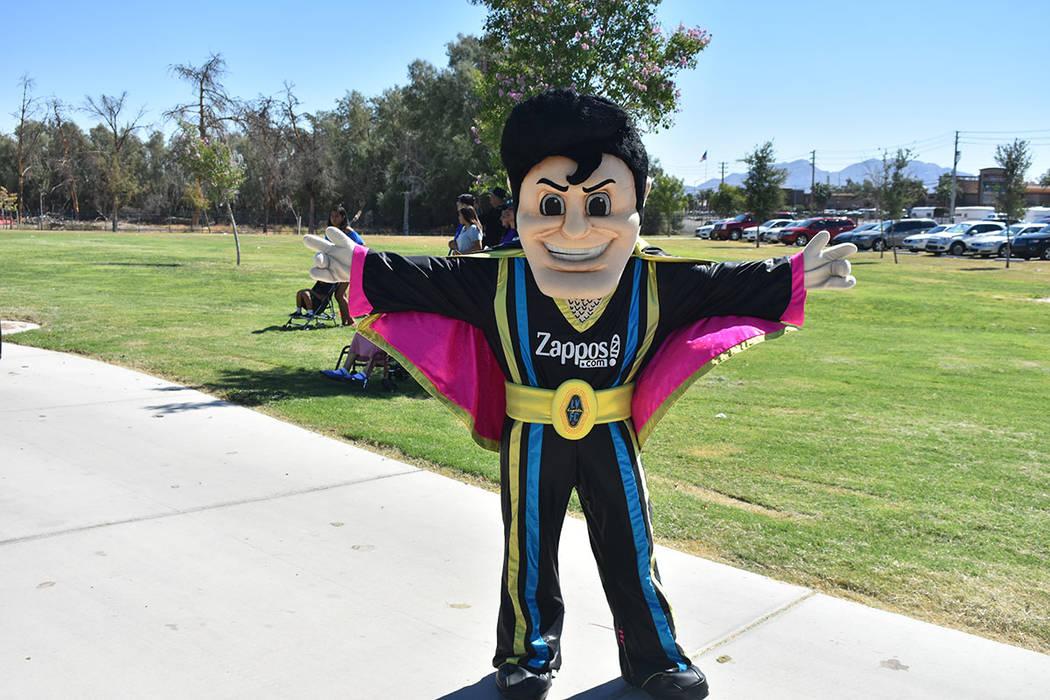 Las Vegas Lights FC también estuvieron presentes en la celebración. Sábado 12 de septiembre de 2018 en parque Craig. Foto Anthony Avellaneda / El Tiempo.