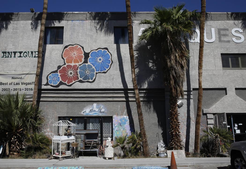 Not Just Antiques Mart at 1422 Western Ave., photographed on Monday, Oct. 8, 2018, in Las Vegas. Bizuayehu Tesfaye/Las Vegas Review-Journal @bizutesfaye