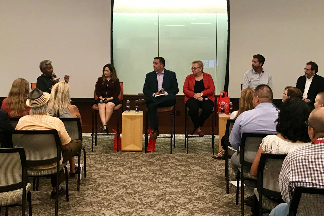 The University Libraries Special Collections and Archives at UNLV hosted a panel discussion on Friday, Oct. 5, 2018, in Las Vegas, to commemorate the one-year anniversary of the Oct. 1, 2017 mass ...