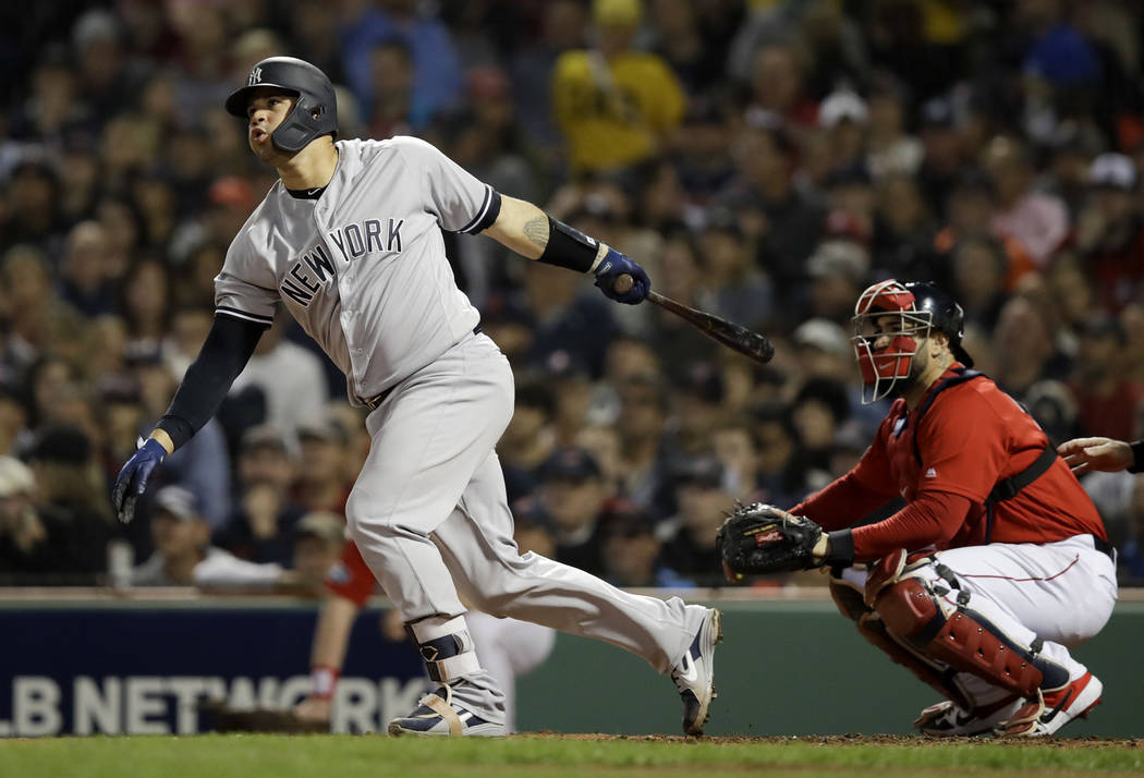 Yankees beat Red Sox 6-2 to even ALDS | Las Vegas Review-Journal