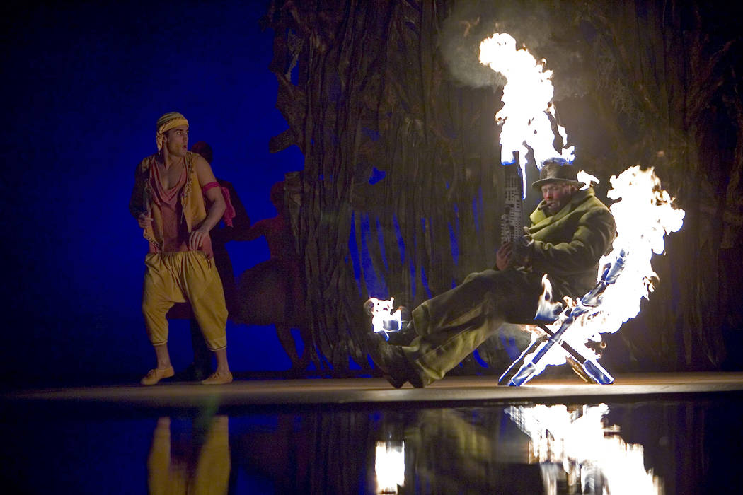 """Two decades after its debut, people are still clamoring to see """"O."""" (Cirque du Soleil)"""