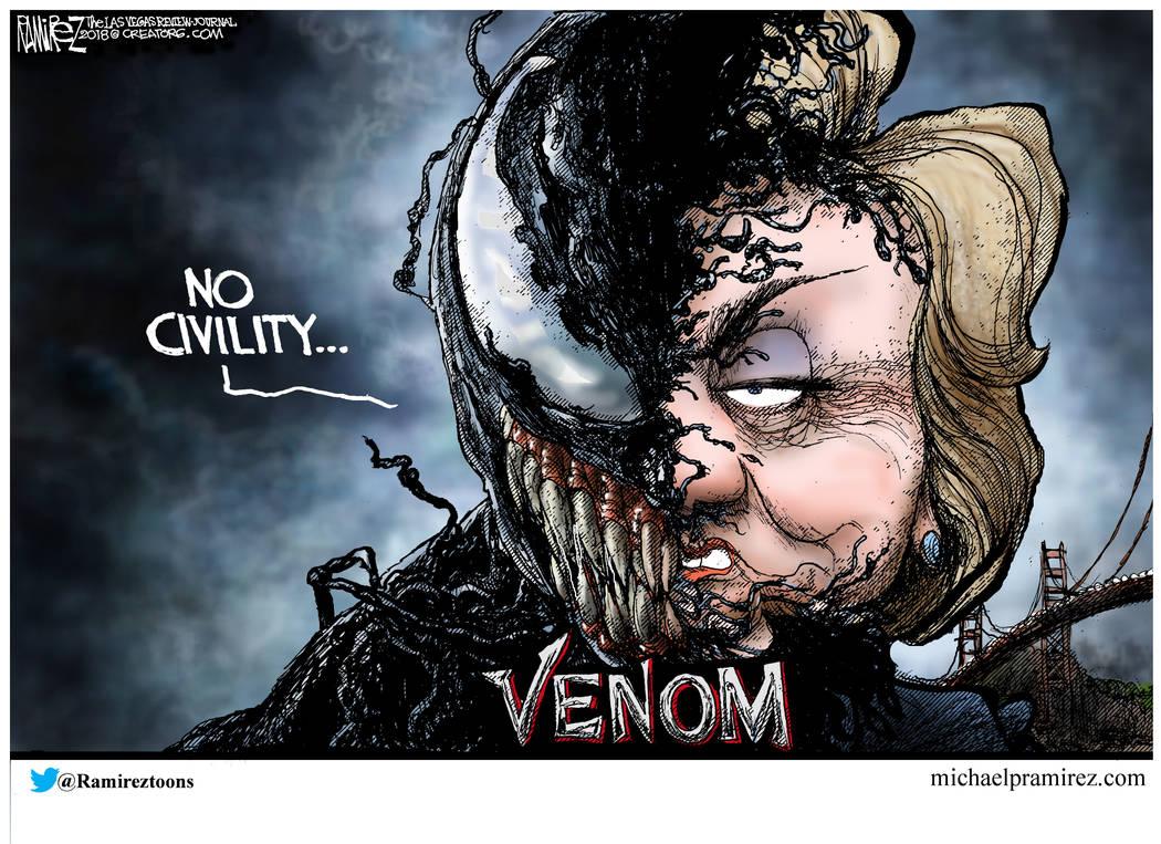 CARTOON: Democratic venom
