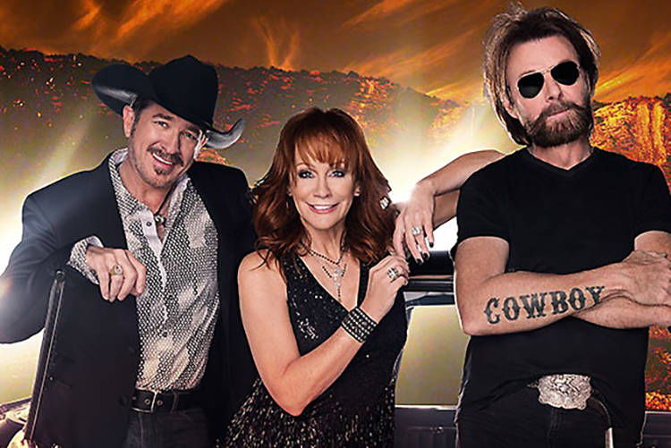 """Reba and Brooks & Dunn: Together in Vegas"" at the Colosseum has added 12 dates next year. (Courtesy)"