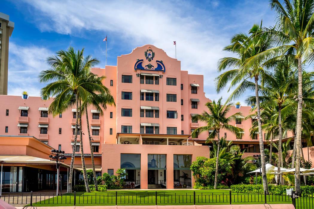 The Royal Hawaiian Hotel at Waikiki Beach, Oahu (Getty Images)