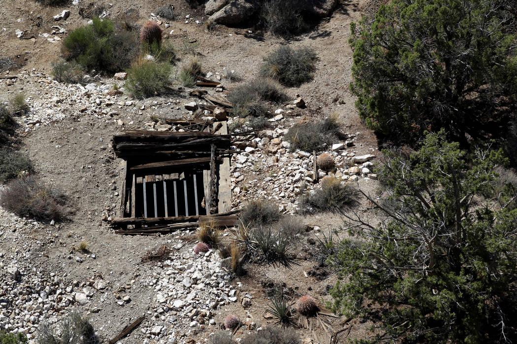 Dangerous Gold Butte Monument mine shaft entrances being closed