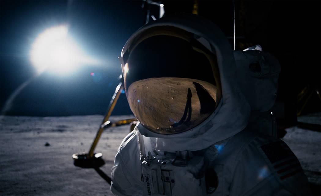 """Ryan Gosling as Neil Armstrong in """"First Man,"""" directed by Oscar®-winning filmmaker Damien Chazelle (""""La La Land"""")."""