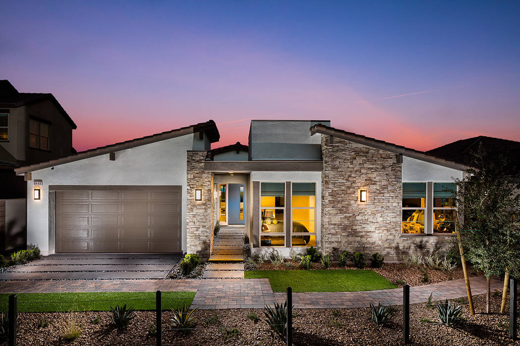Pardee showcases Skye Canyon collection