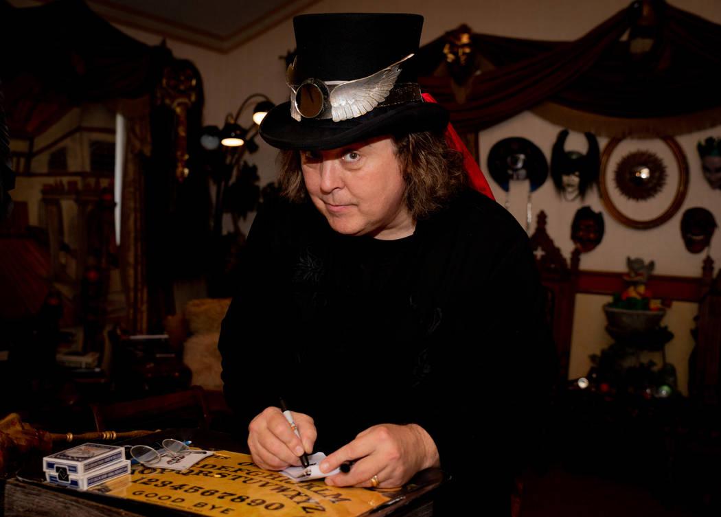 Jeff McBride works in his magic workshop. (Tonya Harvey Real Estate Millions)