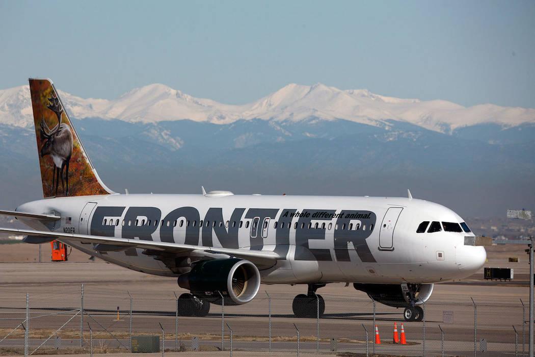 Frontier Airlines (David Zalubowski/AP file)
