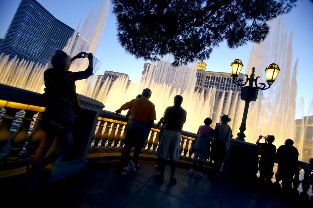Bellagio hotel-casino,3600 S. Las Vegas Boulevard, as seen Wednesday April 24, 2013. The MGM Grand is scheduled to release first quarter earnings.(Jeff Scheid/Las Vegas Review-Journal) Jeff Sc ...