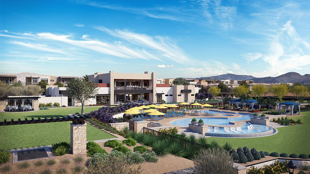 Trilogy in Summerlin to build clubhouse