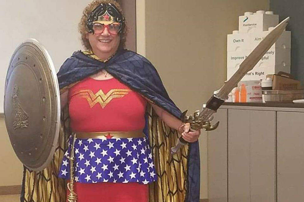Barbara Holland is going as Wonder Woman for Halloween this year. (Barbara Holland)