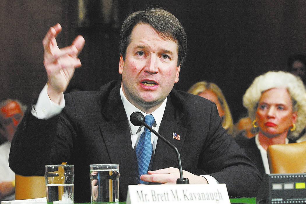 Brett Kavanaugh. (AP Photo/Dennis Cook, File)
