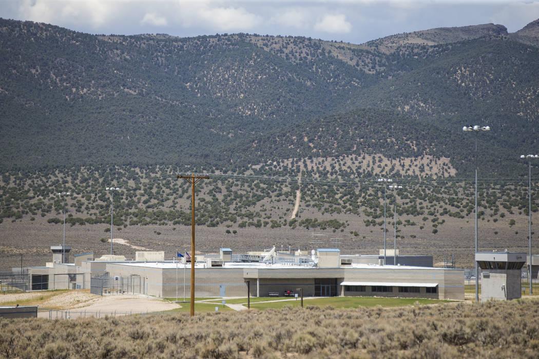 Ely State Prison in Ely on Wednesday, July 11, 2018. (Chase Stevens Las Vegas Review-Journal) @csstevensphoto
