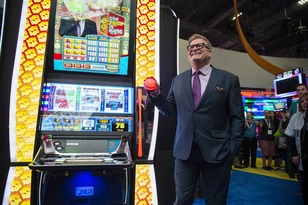 Entertainment icon and famed gameshow host Drew Carey leads the world debut of three IGT Price is Right slot games at the 18th annual Global Gaming Expo at Sands Expo and Convention Center in Las ...