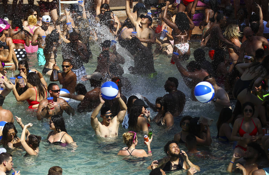 Rehab making final splash at Las Vegas' Hard Rock