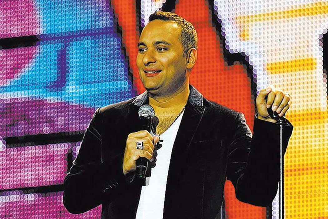 Russell Peters will debut new material Saturday at the Palms' Pearl Concert Theater. (Courtesy photo)